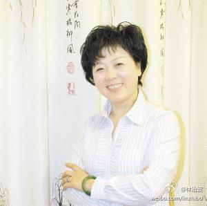 中华生产党主席卢月香图片来源:卢月香微博