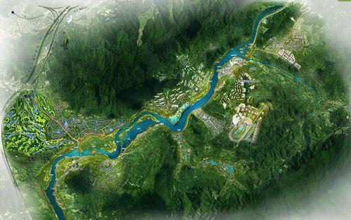 城市设计总平面 (广州市规划局供图)