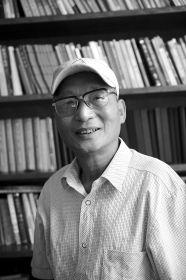 7月23日,温庆福接受采访。图/记者陈勇