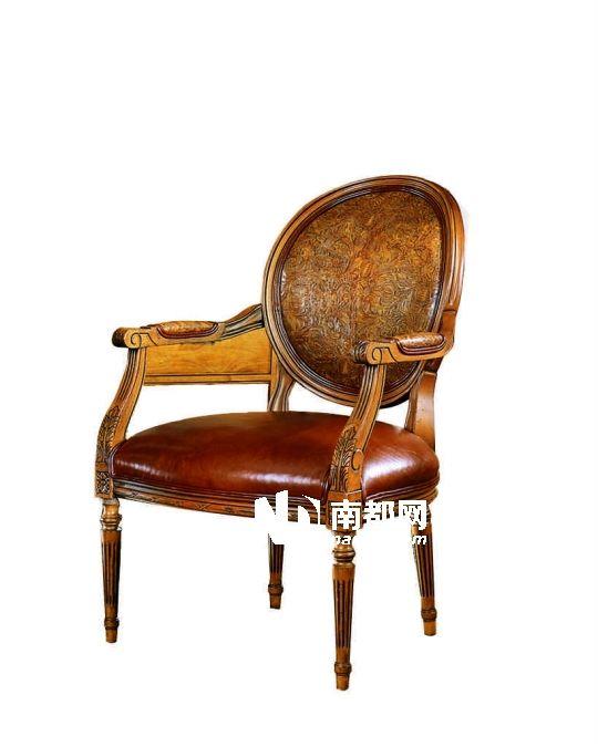 巴洛克风格椅子手绘图片