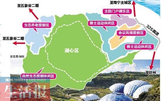 广西旅游地图景点分布