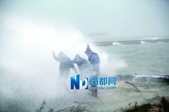 汕头南澳岛也出现多出村庄被海水倒灌水浸