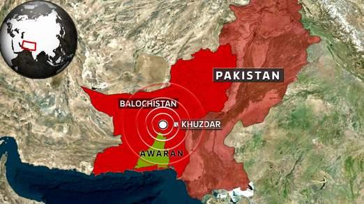 此次地震震源位置离24日大地震震源非常近。