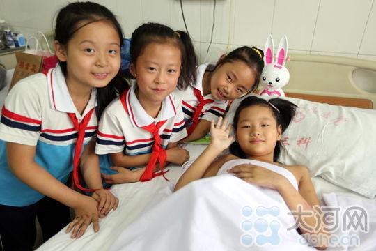 安阳坚强经期:疼痛里快乐温馨的中秋节女生女孩病房图片