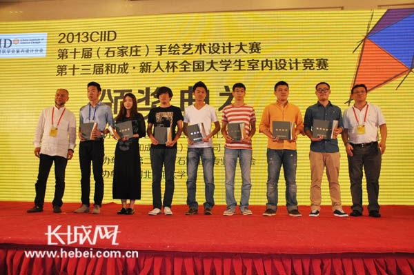 表现类一等奖;云南艺术学院设计学院李海华夺得《建筑·室内组》写生
