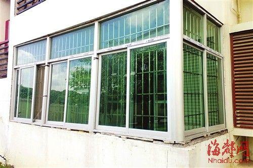 高层楼房阳台窗户装房设计图片