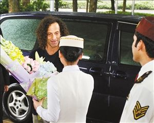 萨克斯之父肯尼 基 下榻深圳深航国际酒店图片
