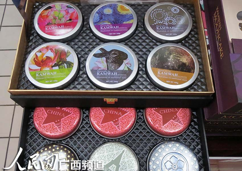 广西南宁 月饼市场有点 冷 销售人员叹难卖