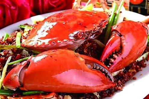 生螃蟹内脏图解