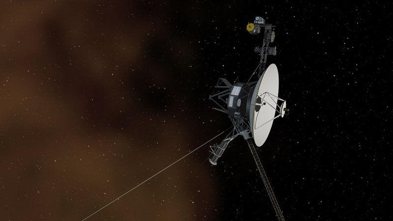 图为旅行者1号探测器。图片来自NASA官网