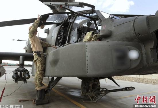 台军阿帕奇直升机已解决缺陷具预期战力