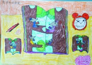 翠园第一小学三年级6班   钟睿琪  9岁,逸景翠园第一小学三年级8班