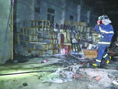 青山凤凰工业园一家具厂处理_资讯频道_新集旧家具失火图片