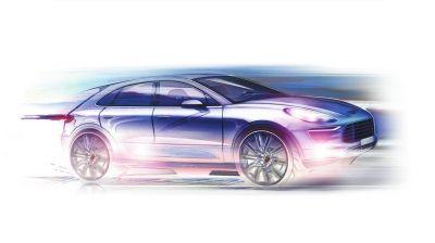 者冷宇)上周,保时捷发布了全新Macan预告图,这款新车将在下月