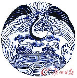 """原标题:丹顶鹤:仙风道骨""""一品鸟"""" 国画《鹤鹿同春》 吴竹作 在中国"""