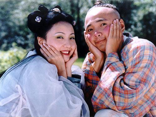 吴奇隆刘诗诗公开情侣关系 盘点因戏结缘的明星图片