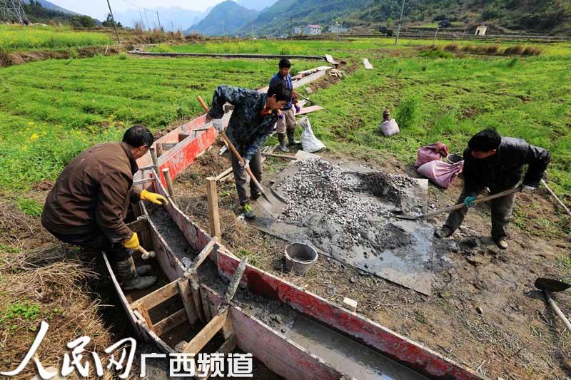 在广西柳州市融安县浮石镇桥头村