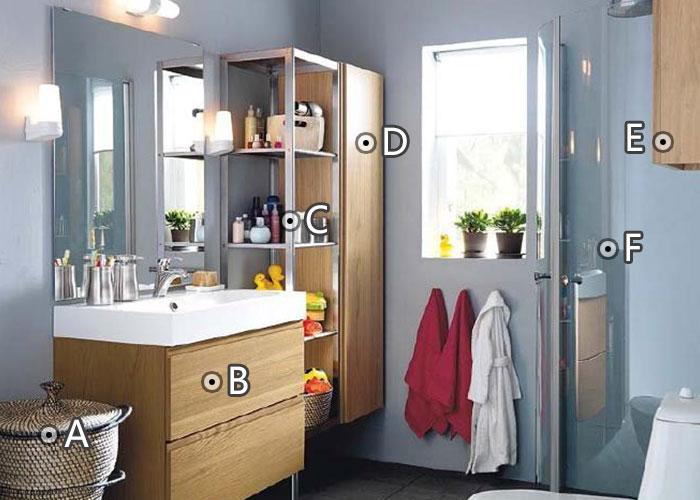 4平米浴室扩充储物空间案例