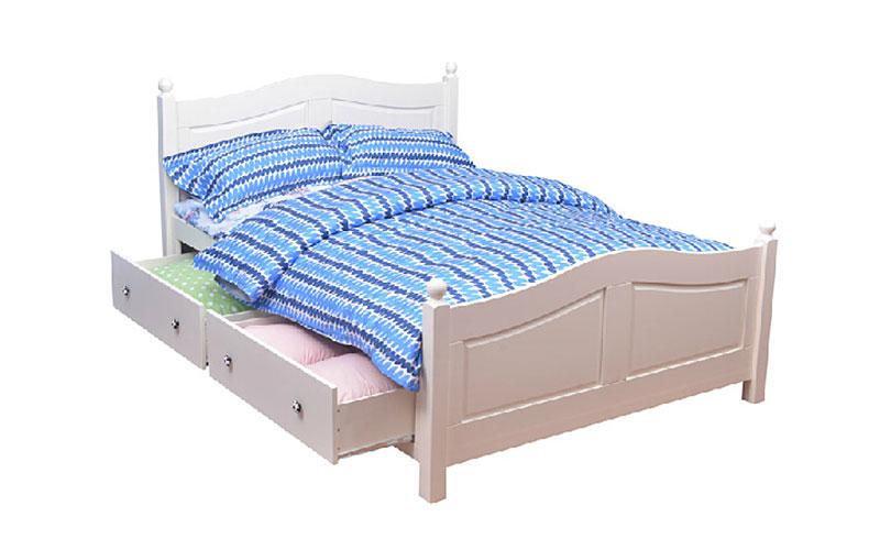 多功能儿童储物床