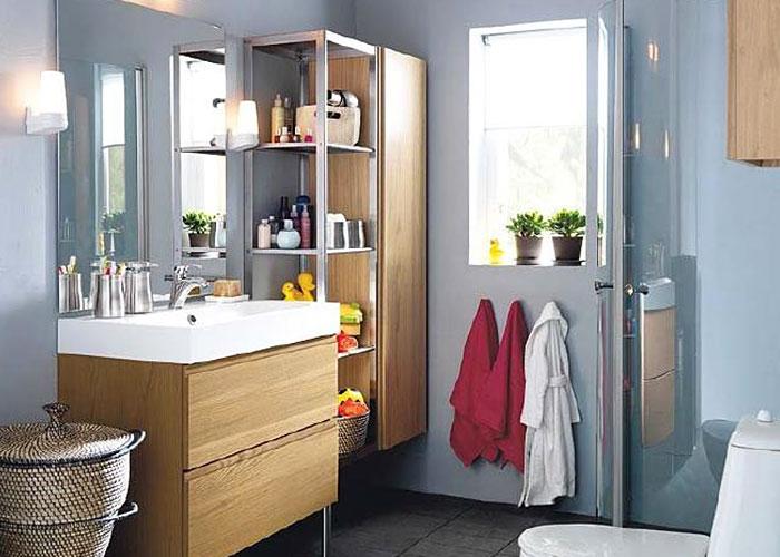 4平米浴室如何扩充储物空间?