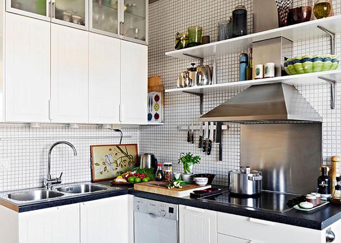 小厨房要怎样收纳才不显杂乱?