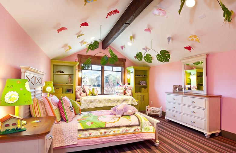 怎样布置一间甜美女孩房?