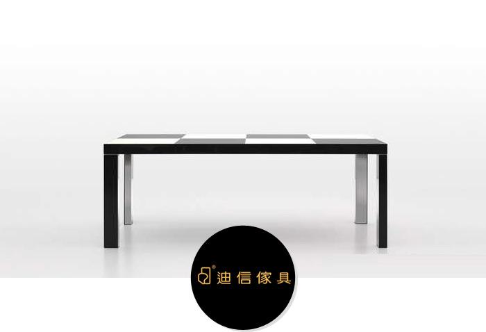 迪信家具木面长方餐台DFT1550