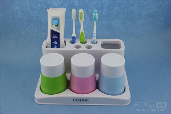 如何清洗牙刷架