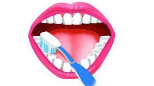 最正确的刷牙方法