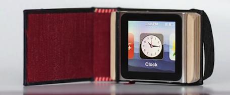 新设计:很酷的翻书式iPod nano 保护套