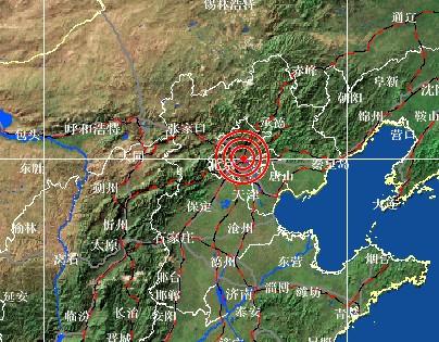 北京市朝阳区孙河附近(东经116.5度,北纬40.0度)发生m2.2级地震