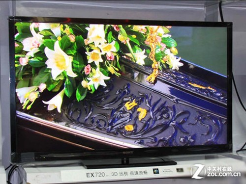 直降1633元 索尼55寸3D电视京东低售