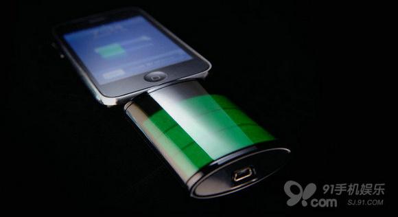 以苹果充电标志设计的创意充电器the icon