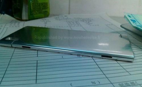 6.3mm全铝制 4.9英寸1080p华为EDGE曝光(图片来自phonearena)