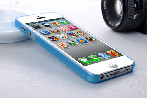iPhone 5夏日必备保护壳i-LAYER      超薄时尚手感舒适