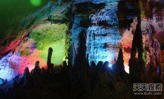 人类目前开采出的地下洞穴只是很小一部分