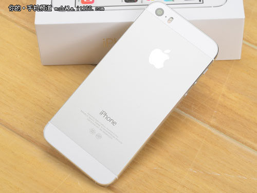 ▲iPhone5S背面