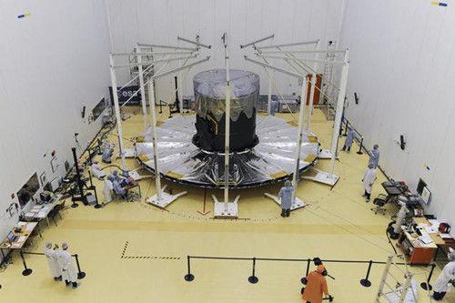 """资料图:""""盖亚""""太空望远镜"""