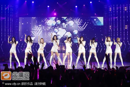 创韩国女歌手巡演最高纪录