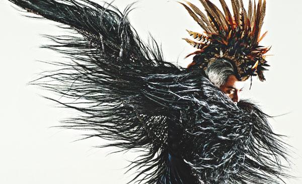 吉杰《自深深处》专辑封面造型