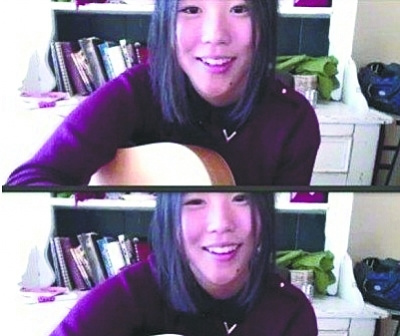 """""""爸爸是窦唯,妈妈是王菲,整个华语乐坛都在等着她长大……"""""""