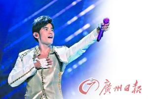 周杰伦广州个唱来的都是麦霸。