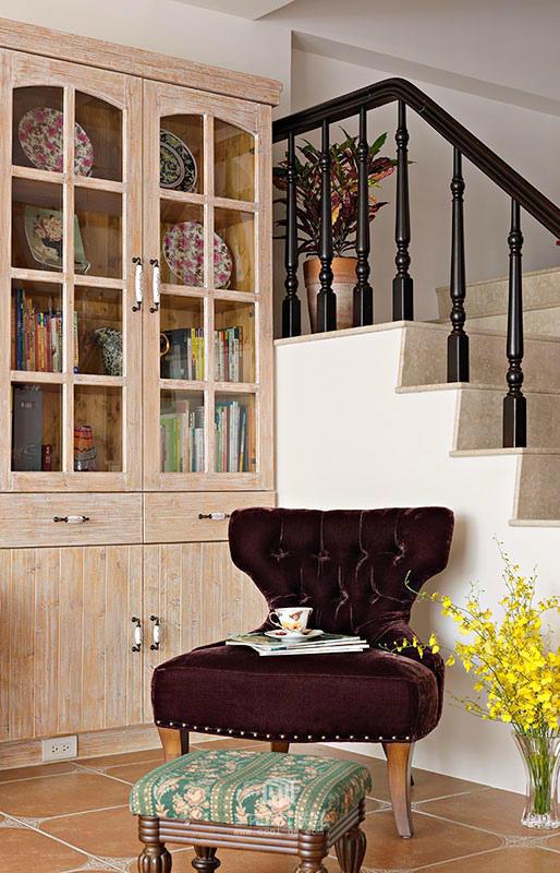 歐式鄉村別墅裝修 色彩世界里的溫馨
