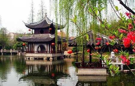 中国如派盆景园(古澹园),匿峰庐,逸园,中国如皋长寿博物馆,灵威观