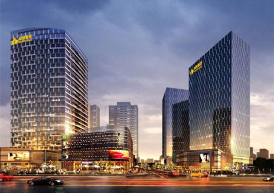 公寓  绿地·香树花城将推出高层板式住宅,面积为71-116㎡,2梯4