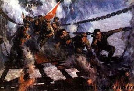 """有关泸定桥的资料_为什么""""飞夺泸定桥""""会在长征历史上大书特书? 泸定桥 长征"""