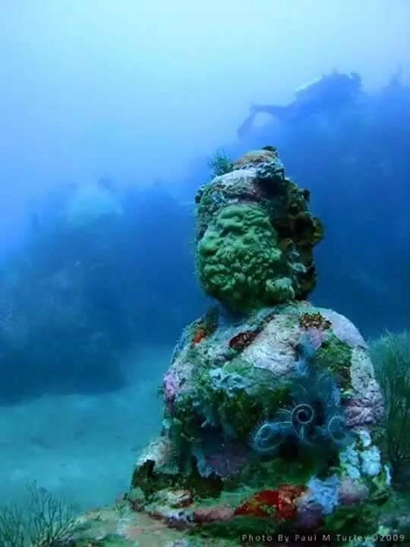 财经资讯_海巡重磅:发现海底千年佛寺 再现婆罗浮屠|婆罗浮屠| 海底_凤凰佛教