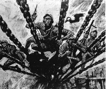 """有关泸定桥的资料_飞夺泸定桥的红四团团长被批""""吃不了苦脱队""""_历史频道_凤凰网"""