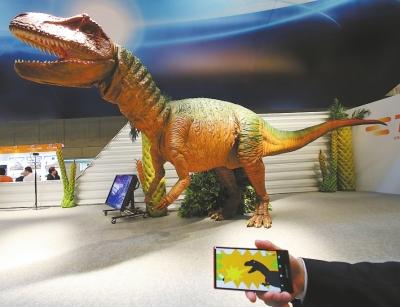 恐龍機器人圖片
