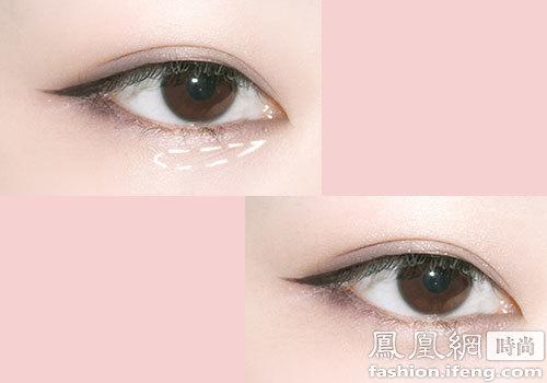 教你臉蛋變美6步驟搞定大眼魅惑妝容